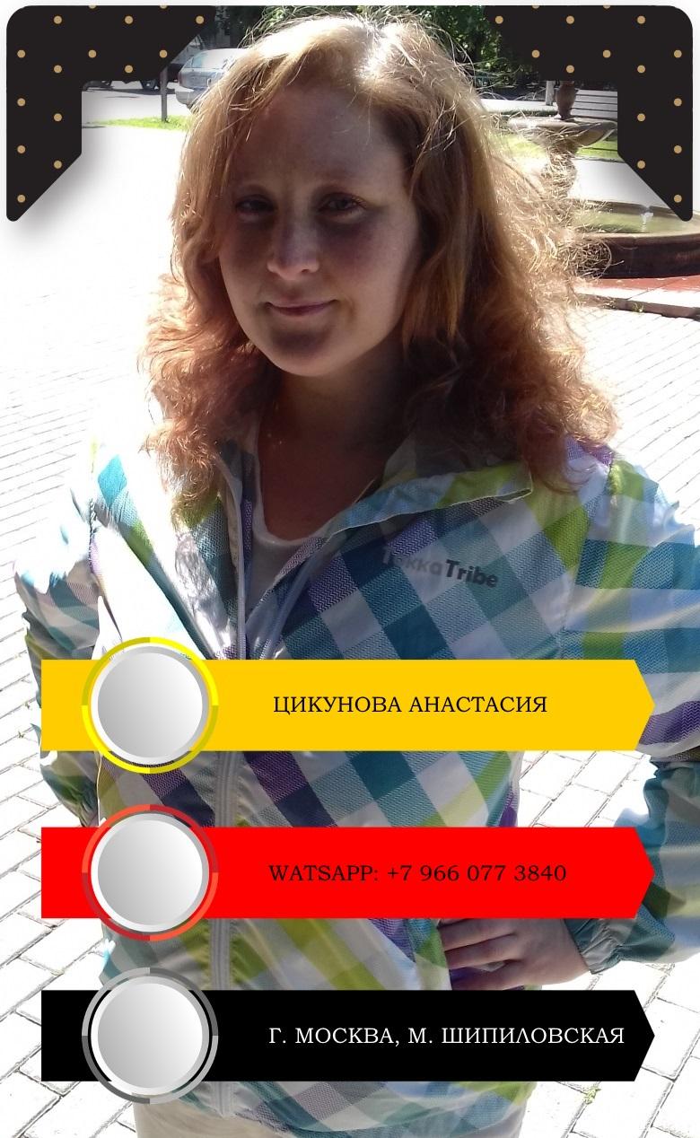 Цикунова Анастасия Александровна